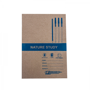 Picture of A4 72 Page Nature Study Feint and Margin