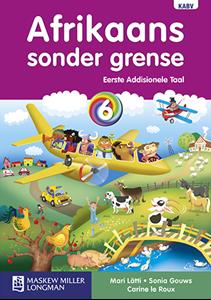 Picture of Afrikaans Sonder Grense Eerste Addisionele Taal Graad 6 Leerderboek
