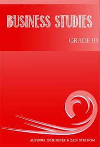 Picture of Consumo Business Studies Grade 10 Learner's Book