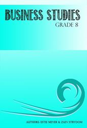 Picture of Consumo Publishers Business Studies Grade 8