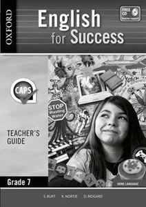 Picture of English for Success Home Language Grade 7 Teachers Guide