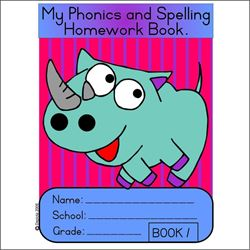 Picture of My Phonics and spelling homework book 1