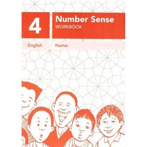 Picture of Number Sense Workbook 4 - A4