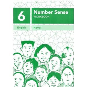 Picture of Number Sense Workbook 6 - A4