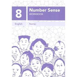 Picture of Number Sense Workbook 8 - A4