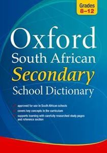 Picture of Oxford South African Secondary School Dictionary