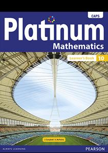 Picture of Platinum Mathematics Grade 10 Learner's Book
