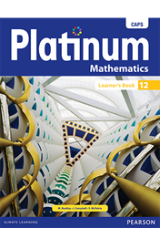 Picture of Platinum Mathematics Grade 12 Learner's Book