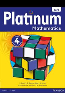 Picture of Platinum Mathematics Grade 4 Learner's Book