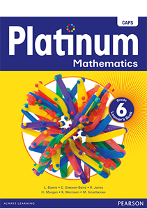 Picture of Platinum Mathematics Grade 6 Learner's Book