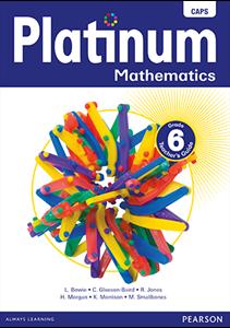 Picture of Platinum Mathematics Grade 6 Teachers Guide