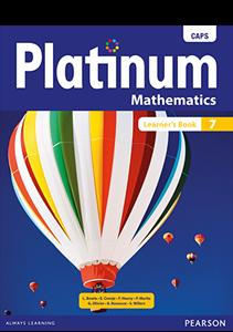 Picture of Platinum Mathematics Grade 7 Learner's Book