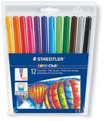 Picture of Staedtler Noris Club Fibre-Tip Koki Pens 12's