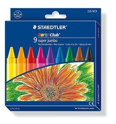 Picture of Staedtler Super Jumbo Crayons 9's