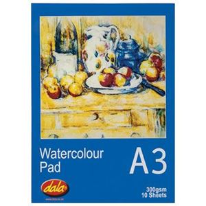 Picture of Dala A3 Watercolour Paper Pad 10 Sheets