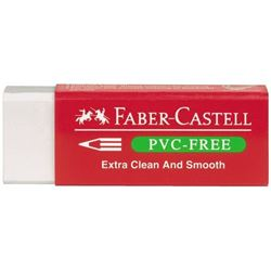 Picture of Faber-Castell  PVC-Free Eraser white