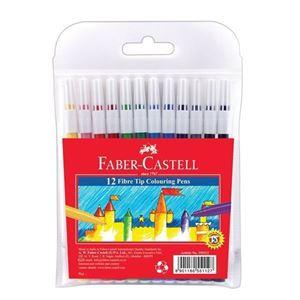 Picture of Faber-Castell Fibre-Tip Koki Pens Fine Point 12's