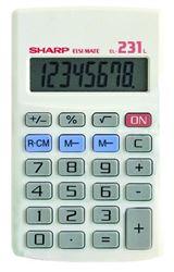 Picture of Sharp EL-231LB Pocket Calculator