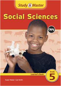 Picture of Study and Master Social Sciences Grade 5 Learner Book
