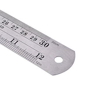 Picture of Stainless Steel 30cm Ruler