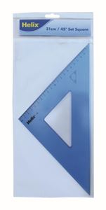 Picture of Helix Set Square 31cm 45 Degree