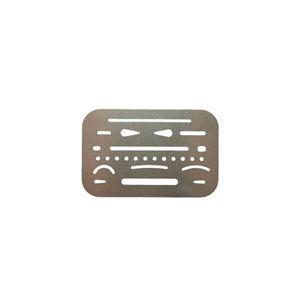 Picture of Trefoil 26 Hole Eraser Shield