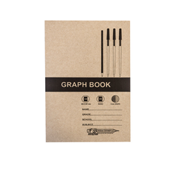 Picture of A4 36 Page Graph Book 2mm