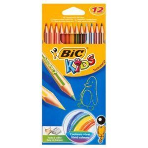 Picture of BIC Kids Tropicolor Pencils 12`s