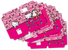 Picture of Hello Kitty A4 Precut Book Covers 5 Per Pack