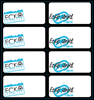 Picture of ECKO Book Labels 16 Per Pack