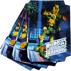 Picture of TMNT A4 Precut Book Covers 5 Per Pack