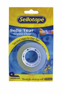 Picture of Sellotear Perforated 18mmx25m Carded