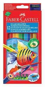 Picture of Faber-Castell  Watercolour Eco Pencils 12's