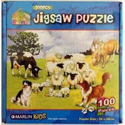 Picture of Marlin Kids Jigsaw puzzle 100 piece Assorted Designs