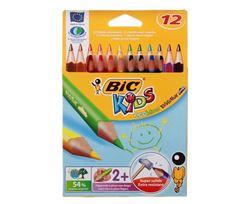 Picture of BIC Evolution Triangular Jumbo Colour Pencils 12's