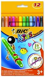 Picture of BIC Kids Turn & Colour Retractable Wax Crayons 12's