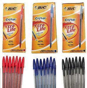 Picture of BIC Crystal Medium Xtra Life Ballpoint Pen