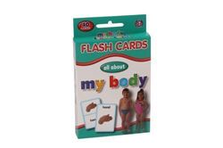 Picture of Educat Big Flash Cards All About My Body