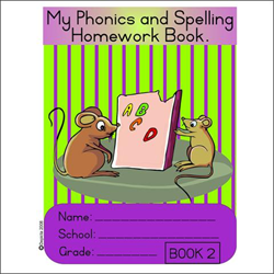 Picture of My Phonics and Spelling Homework Book 2