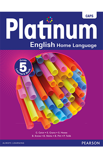 Picture of Platinum English Home Language Grade 5 Learner's Book