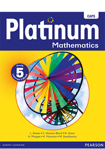 Picture of Platinum Mathematics Grade 5 Learner's Book
