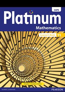 Picture of Platinum Mathematics Grade 11 Learner's Book