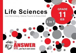 Picture of Answer Series Grade 11 Life Sciences 3 in 1 IEB