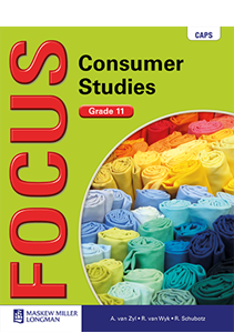 Picture of Focus Consumer Studies Grade 11 Learner's Book