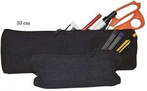 Picture of Treeline 33cm Denim Pencil Bag
