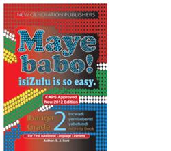 Picture of Maye Babo Isizulu is so easy Grade 2