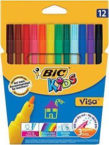 Picture of BIC Visa Koki Pens 12's
