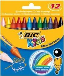 Picture of BIC Kids Wax Crayons 12's