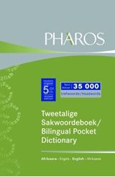 Picture of Nuwe Tweetalige Sakwoordeboek / New Bilingual Pocket Dictionary