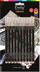 Picture of Croxley Fineliner Pens Set of 10